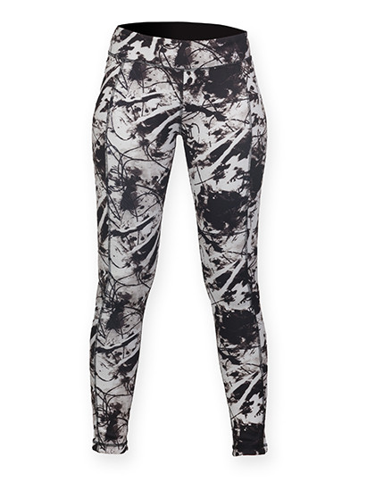 SF424 SF Women Ladies Reversible Work-Out Leggings